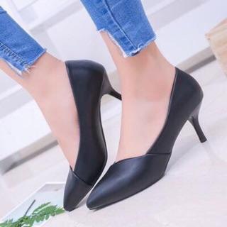 Giày cao gót 4 phân dành cho công sở 2019