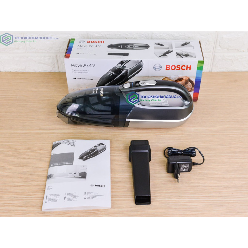 Máy Hút Bụi Cầm Tay Bosch BHN20110 Công Suất 125W chính hãng