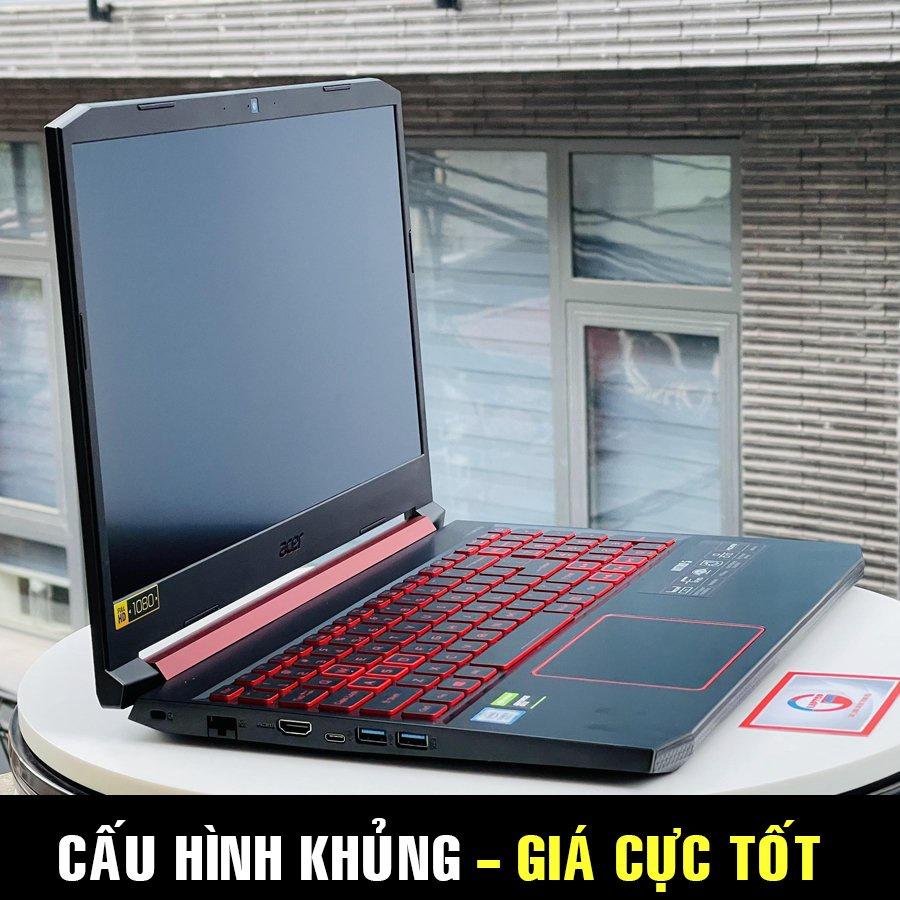 Acer Nitro AN515 54 (I5 9300H, 8G, 256G, GTX 1650 4G, 15.6 FHD IPS) laptop gaming chơi game đồ họa
