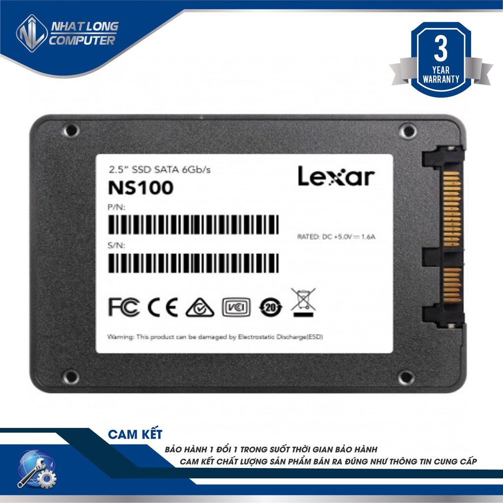 Ổ Cứng SSD Lexar 120GB NS100 2.5 inch SATA III – Hàng chính hãng , Thương hiệu Mỹ Giá chỉ 415.000₫