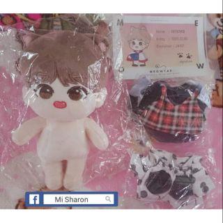 Fullset MeowTae BTS doll 20cm