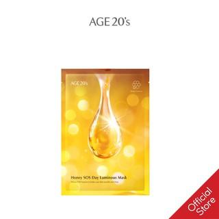 Mặt Nạ Mật Ong Dưỡng Trắng Cấp Ẩm Thần Tốc Age 20 S Honey SOS Luminous Mask 30g thumbnail