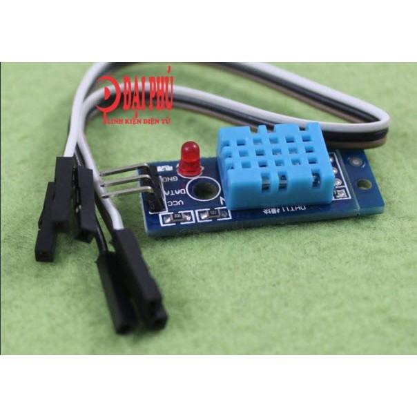 Module Cảm biến độ ẩm, nhiệt độ DHT11