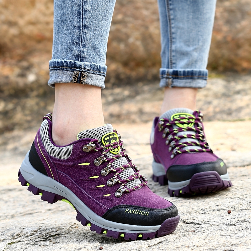 Couple Outdoor Hiking Shoes Comfortable Wearable Breathable Fashion
