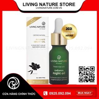 [Official Store] Dầu dưỡng da Living Nature Radiance Night Oil 18ml (bản cập nhật) thumbnail