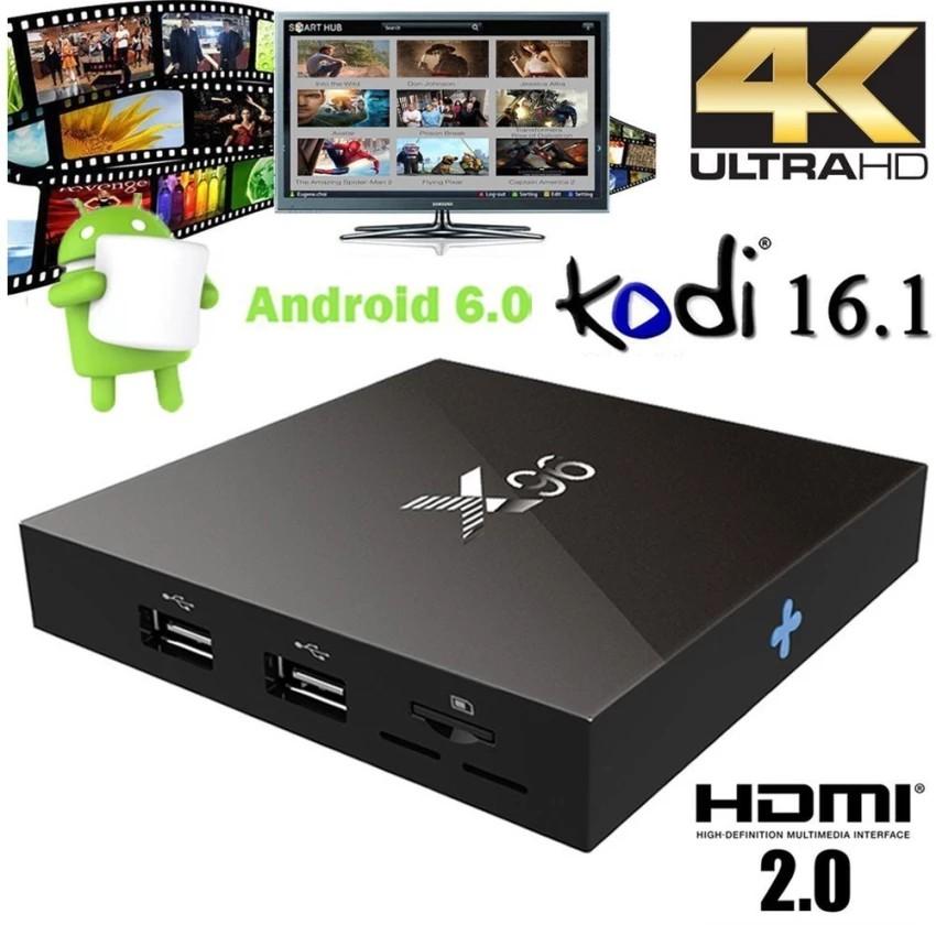 TV Box 4K X96 Android 6.0 Gam 1G 4CPU x 2G Core A53 2016
