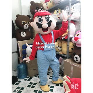 Mascot – Trang Phục Mascot Mario