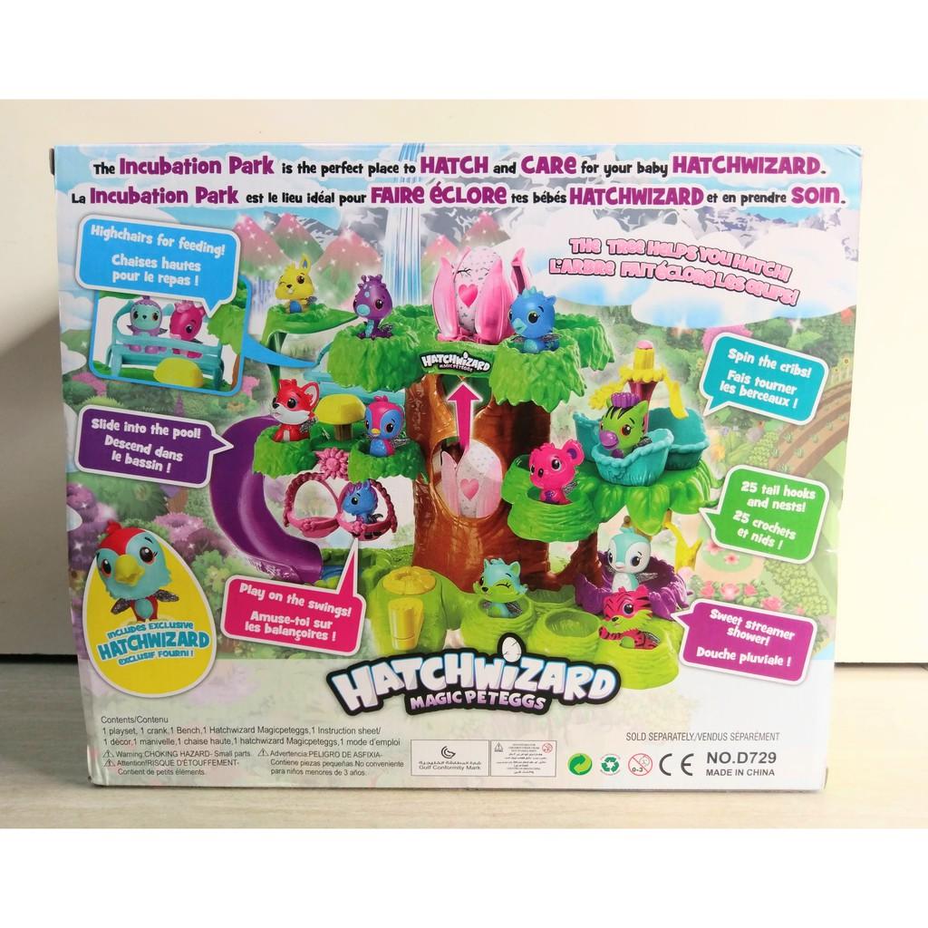 Đồ chơi cây ấp trứng Hatchimals - Hatchwizard D729