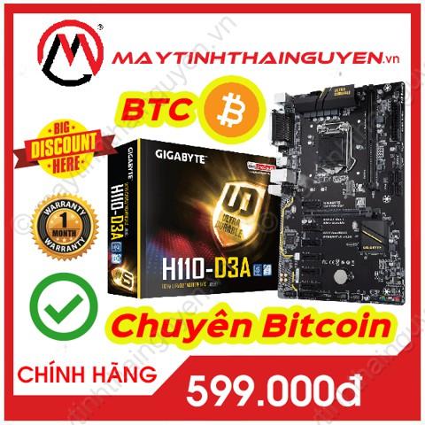 Bo mạch chủ Bitcoin Mainboard GIGABYTE H110 D3A – Main Giga H110 BTC (Qua sử dụng) Giá chỉ 599.000₫