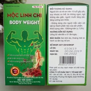 Mộc Linh Chi Body Weight - Hỗ trợ bổ sung vitamin, đạm và dưỡng chất cho c thumbnail