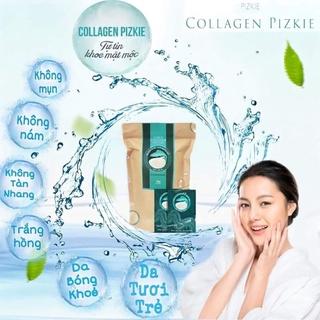 Chính hãng công ty Combo 3 gói Collagen Cá Hồi Pizkie Nhật Bản_ Tái tạo thanh xuân thumbnail