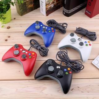 Tay cầm Chơi Game Microsoft Xbox 360 có dây full box - Tay cầm chơi game PC, Laptop cực tối ưu, chơi full skill FO4, FO3 thumbnail