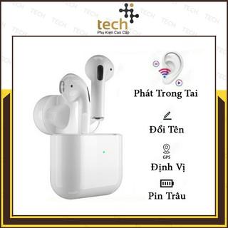 Tai Nghe Bluetooth TWS 5.0 Thế Hệ 4 Định Vị Đổi Tên Âm Thanh Stereo Cực ChuẩnFREESHIP Bảo Hành 1 Đổi 1