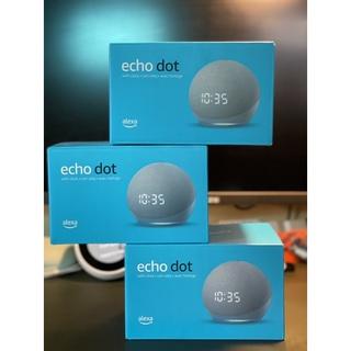 Loa thông minh Echo Dot 4 phiên bản có đồng hồ