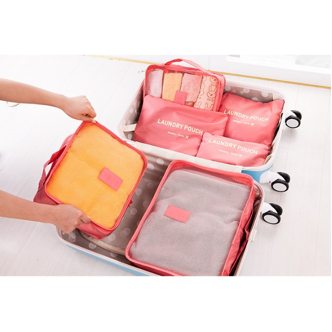 Set 6 túi tiện ích đi du lịch / Bộ túi để đồ dùng du lịch - 14441223 , 213897689 , 322_213897689 , 160000 , Set-6-tui-tien-ich-di-du-lich--Bo-tui-de-do-dung-du-lich-322_213897689 , shopee.vn , Set 6 túi tiện ích đi du lịch / Bộ túi để đồ dùng du lịch