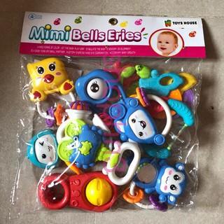 [HÀNG CHUẨN] Xúc xắc- túi đồ chơi xúc xắc 10 món Toys House. Cực HOT!