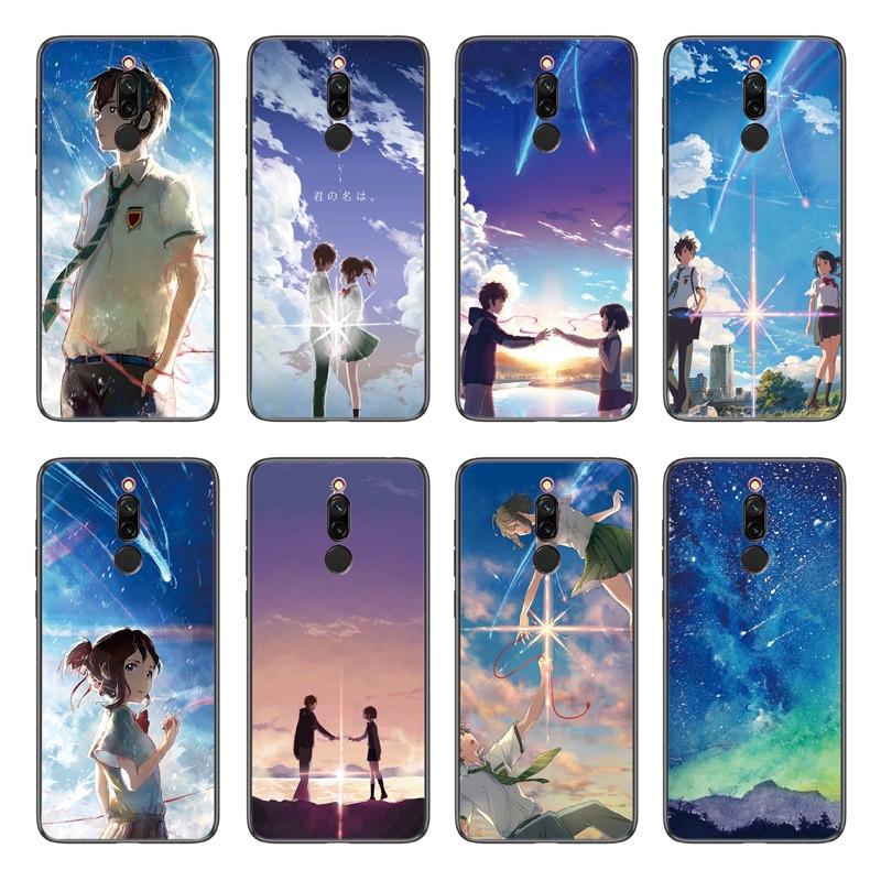 [Mã CBELHA27 giảm 20% đơn 0đ] Ốp điện thoại TPU mềm in hình nhân vật anime dành cho Xiaomi Redmi 8 / 8A / Note 8 Pro / Mi 9 Pro 5G cho các cặp đôi