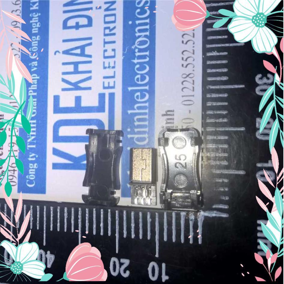 [CỰC HOT] Đầu Jack MiniUSB + vỏ nhựa  (10 bộ) kde0219 CỰC HOT.
