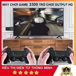 Máy Chơi Game Hơn 3500 Trò Chơi, Dùng Cổng HDMI Chơi Trên Tivi Độ Phân Giải 4K - Máy Chơi Game Arcade GBA PSP. thumbnail