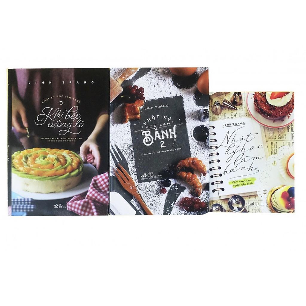 Sách - Trọn bộ Nhật ký học làm bánh