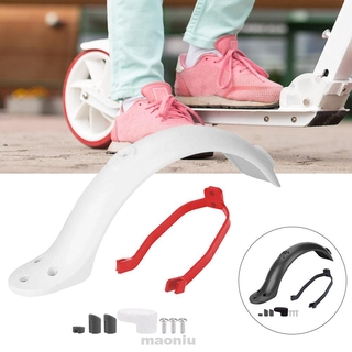 Rear Mudguard Bracket Outdoor Repair Dustproof Protective Easy Install With Screws For Xiaomi M365