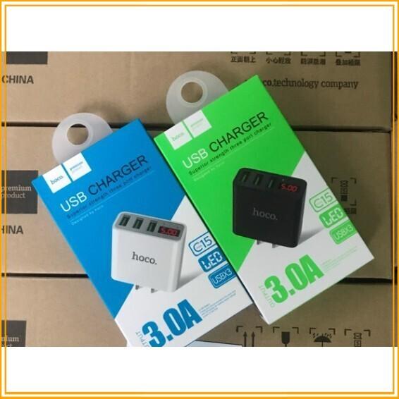 [Giá Sốc] SẢN PHẨM CỦ SẠC NHANH HOCO C15 + 3USB + LCD LED BÁO DÒNG + FULL BOX + CHÍNH HÃNG - 13961273 , 2262315233 , 322_2262315233 , 151800 , Gia-Soc-SAN-PHAM-CU-SAC-NHANH-HOCO-C15-3USB-LCD-LED-BAO-DONG-FULL-BOX-CHINH-HANG-322_2262315233 , shopee.vn , [Giá Sốc] SẢN PHẨM CỦ SẠC NHANH HOCO C15 + 3USB + LCD LED BÁO DÒNG + FULL BOX + CHÍNH HÃNG