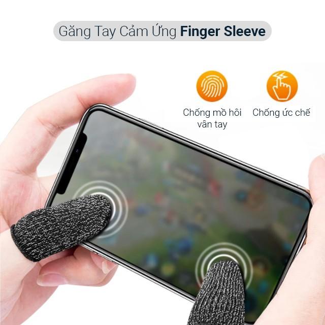 Bộ bao 2 ngón tay chuyên dụng chơi game mobile chống ra mồ hôi tay - Găng tay cảm ứng chơi game