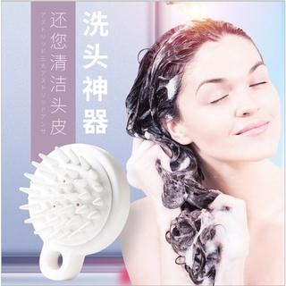 Lược gội đầu bằng silicon mát xa da đầu giảm rụng tóc kích thích mọc tóc