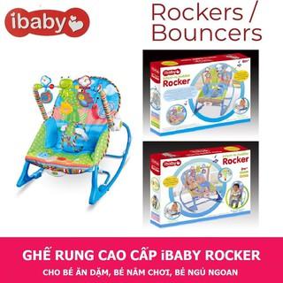 Ghế Rung IBaby – TiiBaby Rocker có nhạc và đồ chơi lục lạc. Dành cho bé từ 0-36 tháng. Có Bảo Hành