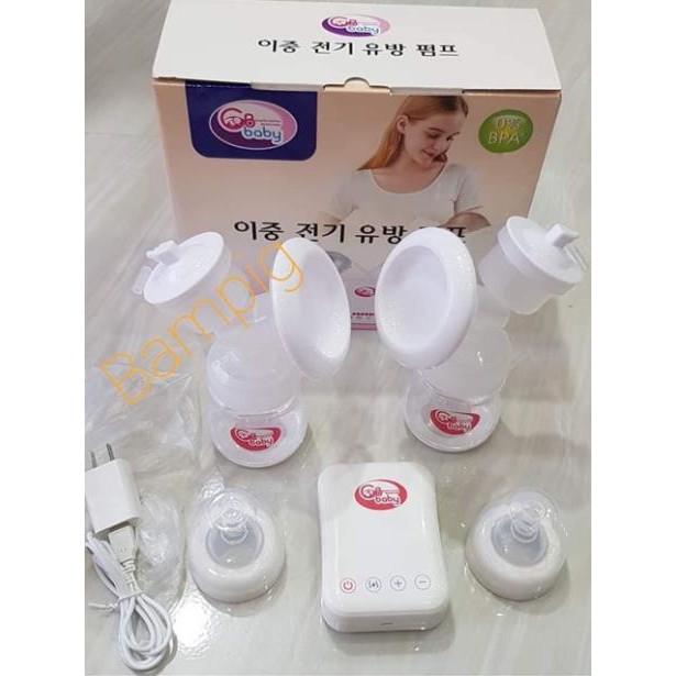 [Chính Hãng] Máy hút sữa điện đôi GB Baby nhập khẩu Hàn Quốc