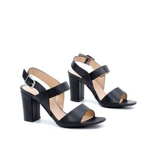 Giày Sandal Cao Gót 7cm Đế Vuông Ôm Chân Pixie 3407