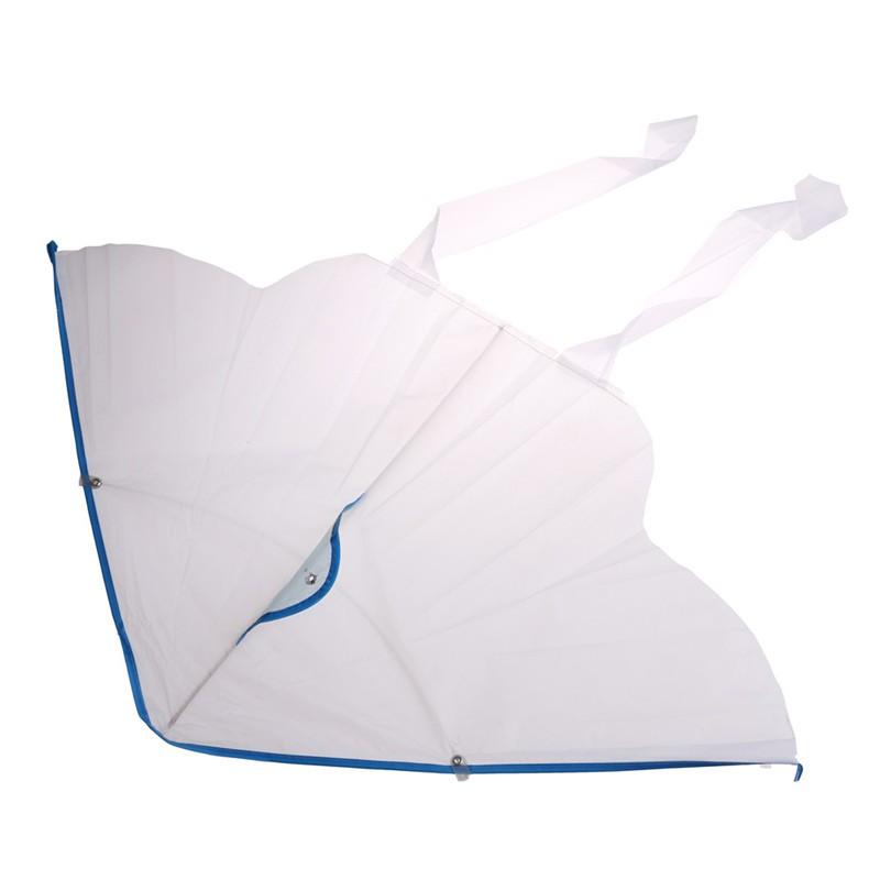 LOVEU* 1PC DIY Painting Kite Foldable Outdoor DIY BlButterfly Kite Kids Sport Toys