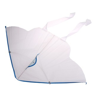 1PC DIY Painting Kite Foldable Outdoor DIY Blank Butterfly Kite Kids Sport Toys