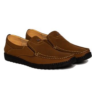 Giày mọi da bò phong cách màu vàng xanh VO LUXURY FASHION VO9756 thumbnail