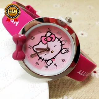 Đồng hồ Hello Kitty dây da dành cho bé gái thumbnail