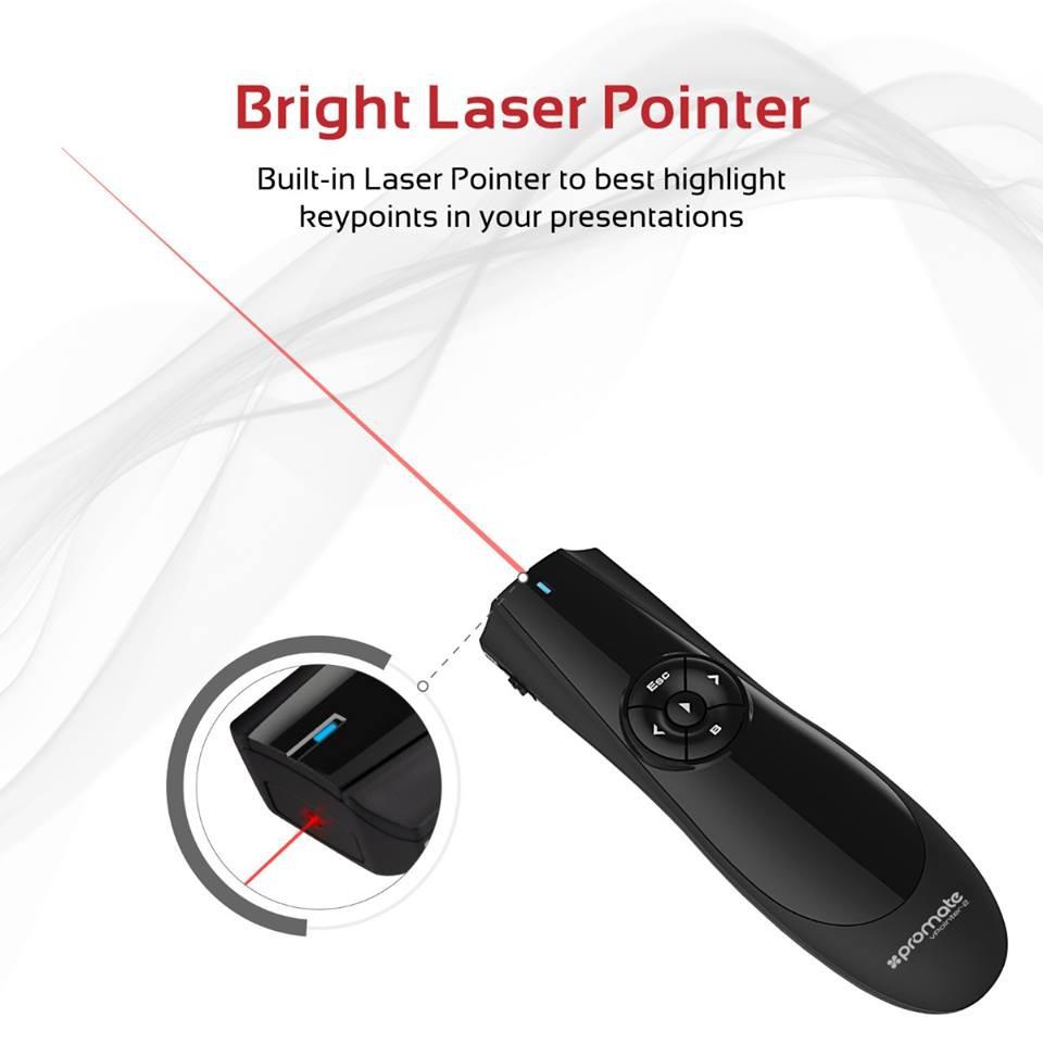 Bút laser trình chiếu cảm ứng Promate VPointer