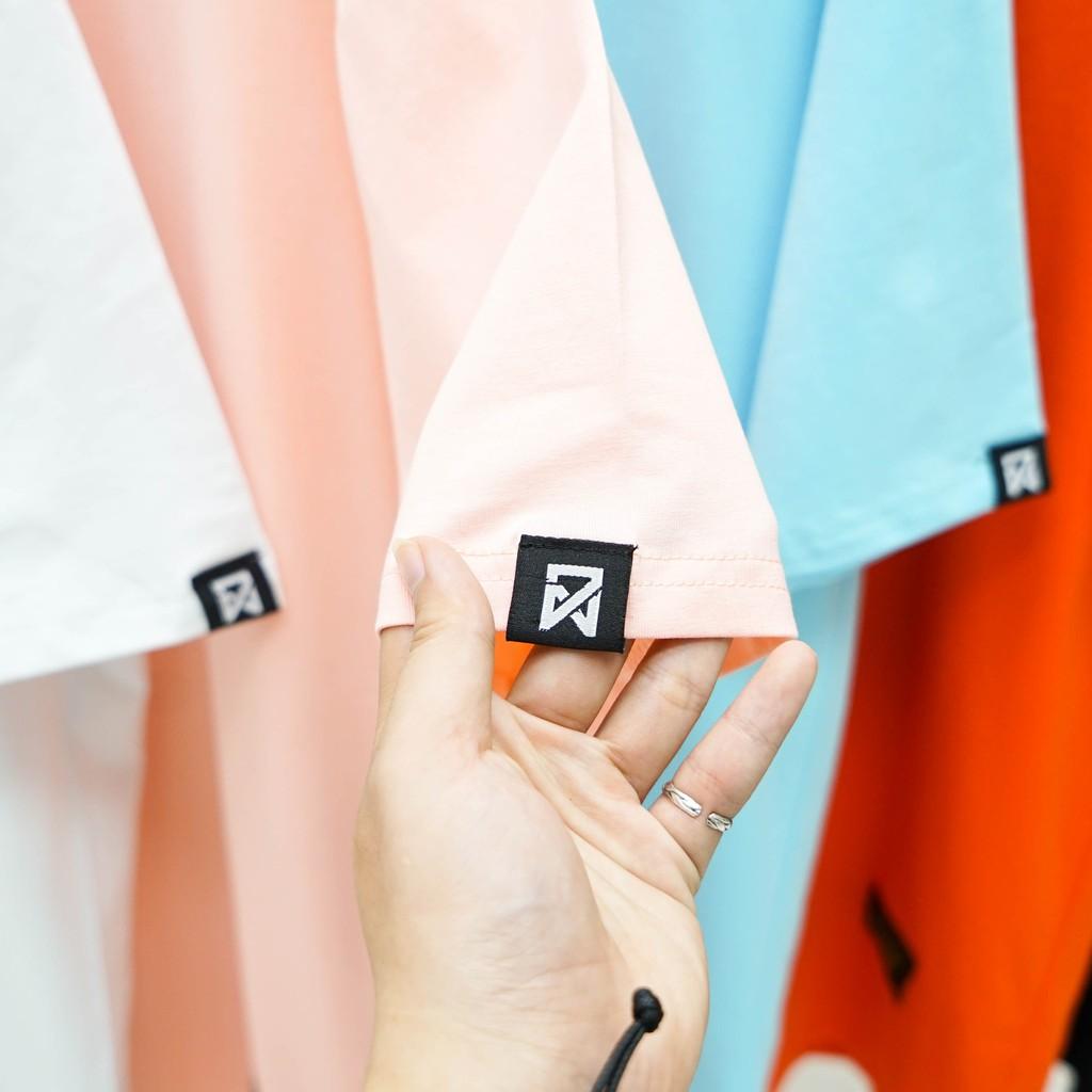 Áo thun Unisex N7 Basic Tee 5 màu phông trơn nam nữ tay lỡ oversize phom rộng