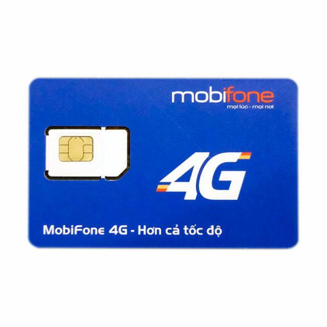 (Đăng kí chính chủ)Sim 4G Mobifone trọn gói 1 năm mỗi tháng 5Gb