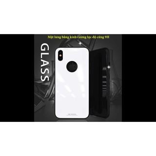 Ốp lưng kính cường lực hiệu SULADA cho Iphone 6/6S/6+/6S+/7/7+/8/8+/X giá rẻ nhất