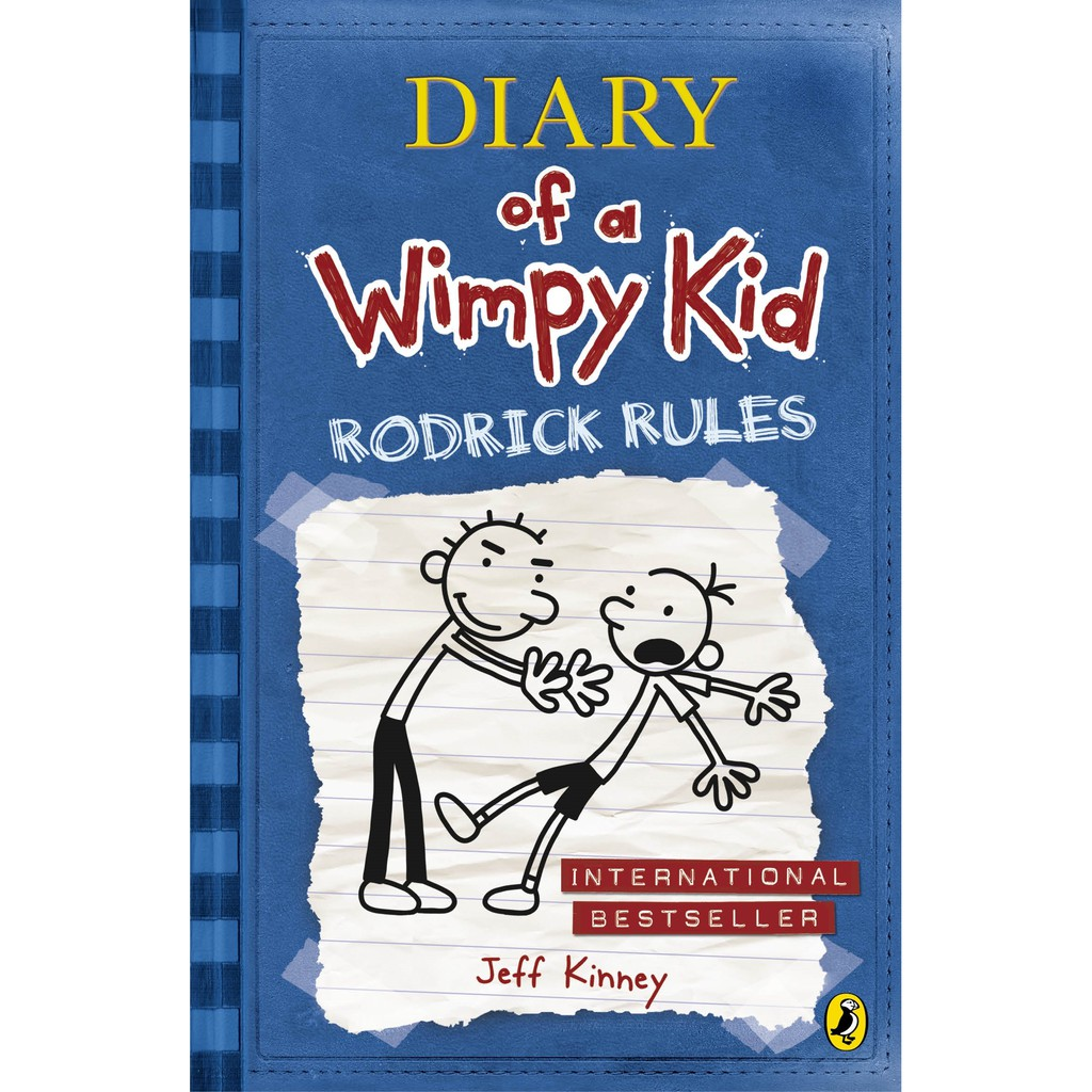 Nhật Ký Chú Bé Nhút Nhát - Tập 2: Luật Của Rodrick - Diary Of A Wimpy Kid: Rodrick Rules - Book 2 (Penguin Books UK)