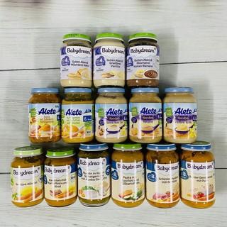 [Mã MKBCS01 hoàn 8% xu đơn 250K] Hũ dinh dưỡng hữu cơ Alete Babydream đóng lọ 125g 190g cho bé 4 6m+ thumbnail