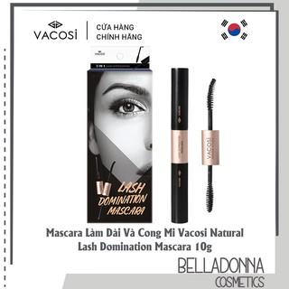 Mascara Làm Dài Và Cong Mi Vacosi Natural Lash Domination Mascara 10g