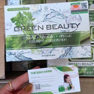 Diệp lục cần tây green beauty (kèm thẻ bao hành) thumbnail