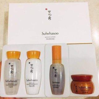 CHÍNH HÃNG 100% Set Mini Sulwhasoo Basic Kit (4 items) (Bộ Dùng Thử Chống Lão Hoá Và Làm Săn Chắc Da ) thumbnail