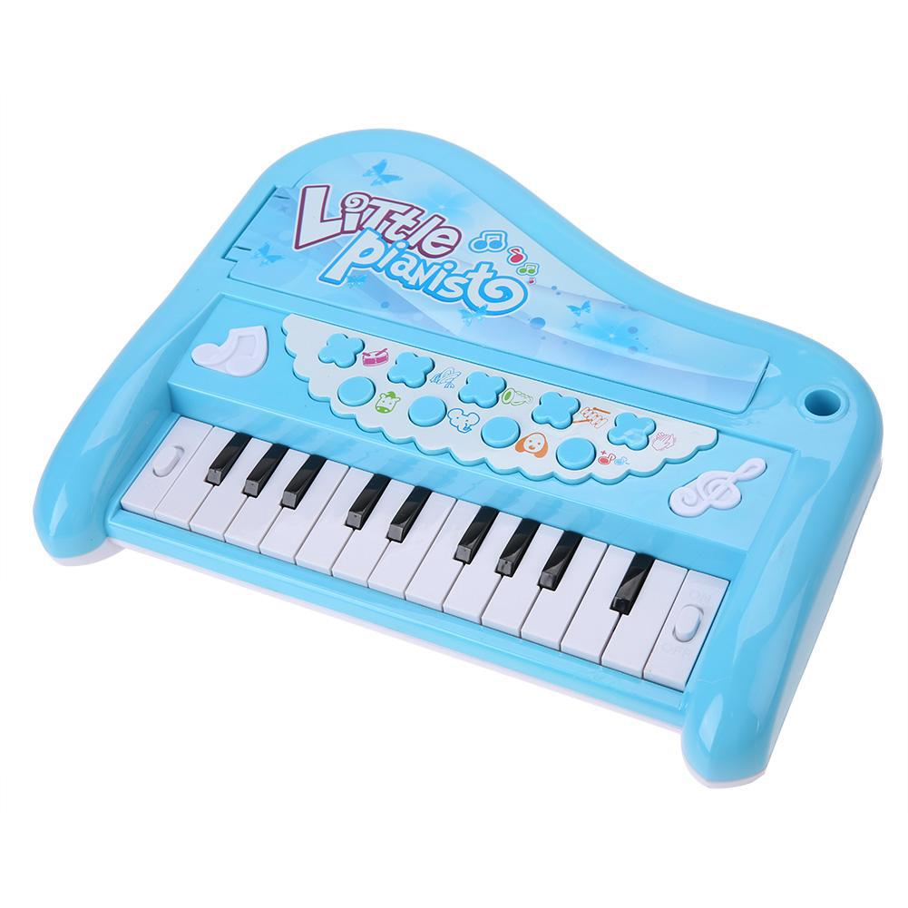 Havasshop Electronic Keyboard Piano Baby Toys Musical Instrument With Microphone Early Educational Toy Boys Girls Finger