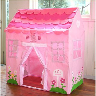 Children's oversized game house toy house pink cloth tent princess small house