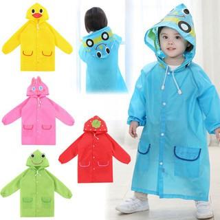 Áo mưa trẻ em xuất Nhật hình thú vui nhộn cho bé 2-7 tuổi