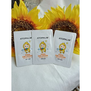 Kem chống nắng cho bé ATOPALM Aqua Sun Lotion 2ml thumbnail