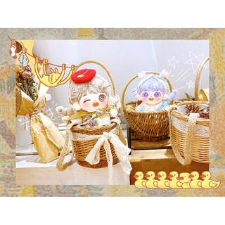 [ORDER] Doll nữ Hoa giấy – Trà hạnh nhân 20cm