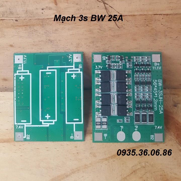 D.I.Y Mạch Bảo Vệ Pin 3S BW 25A - 9953415 , 1131399544 , 322_1131399544 , 69000 , D.I.Y-Mach-Bao-Ve-Pin-3S-BW-25A-322_1131399544 , shopee.vn , D.I.Y Mạch Bảo Vệ Pin 3S BW 25A